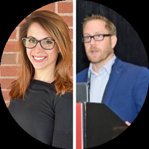 Nicole Cammack and Dr. Ryan Yamka