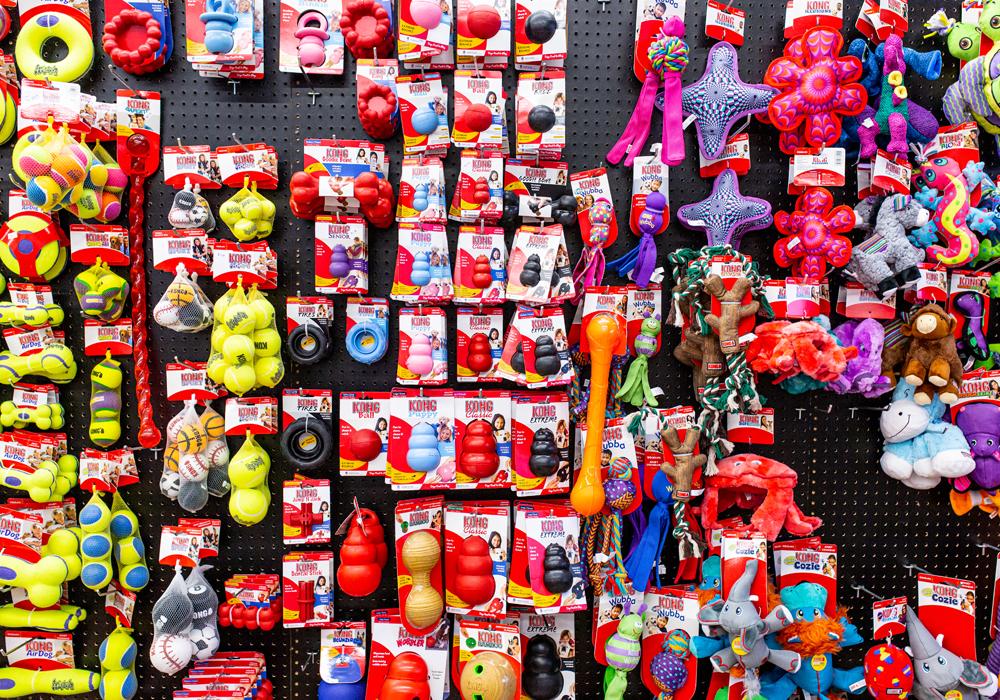 Toy Wall at NPP